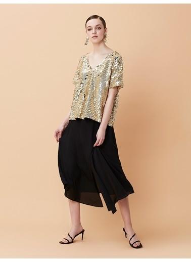 Ipekyol Kadın  Elbise IS1190002424 Siyah